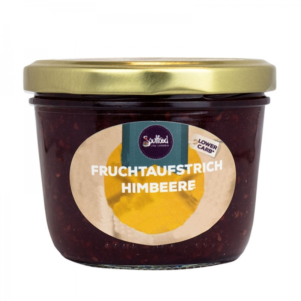 Himbeer Fruchtaufstrich homemade von Soulfood LowCarberia 220g