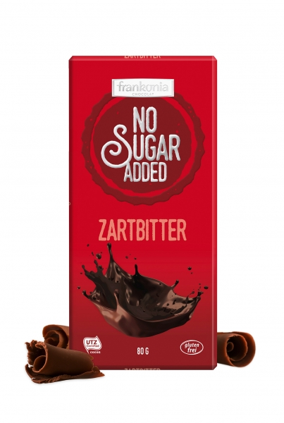 Zartbitter Schokolade - No Sugar Added Frankonia