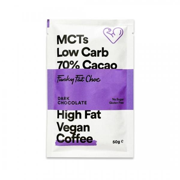MCT Schokolade Erythrit Coffee - Funky Fat Choc