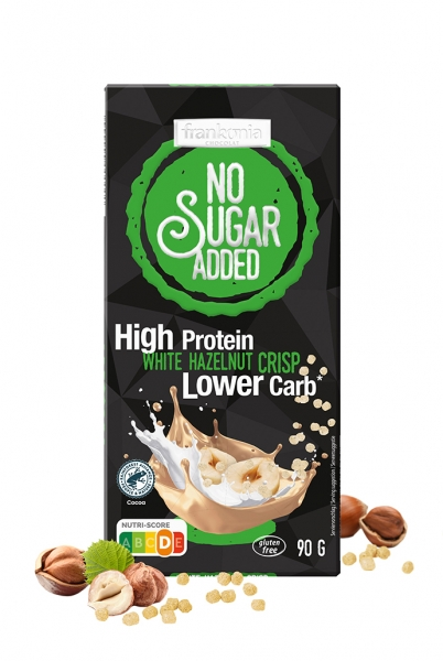 High Protein White Hazelnut Crisp - No Sugar Added Frankonia