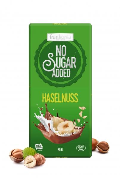 Haselnuss Schokolade - No Sugar Added Frankonia