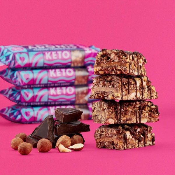 ADONIS Keto Riegel - Hazelnut Crunch & Chocolate