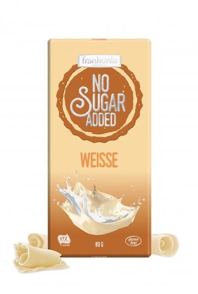 Weiße Schokolade - No Sugar Added Frankonia