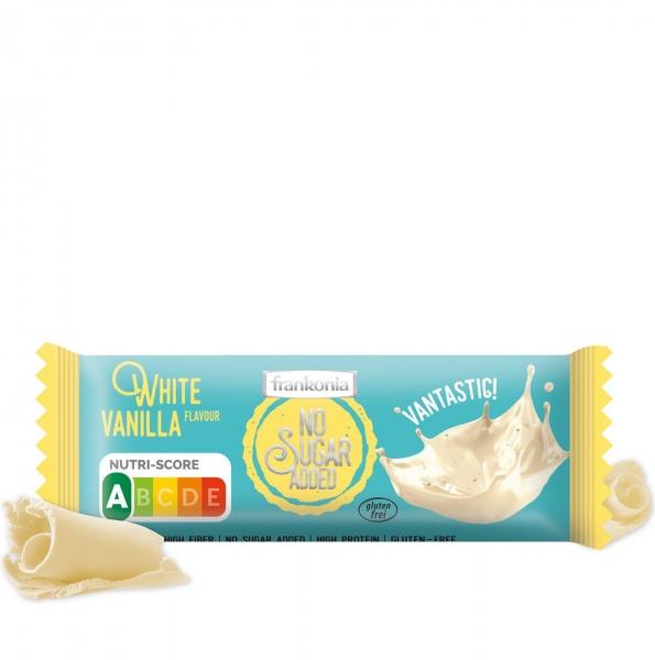 White Vanilla  Riegel - No Sugar Added Frankonia