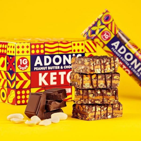 ADONIS Keto Riegel - Peanut Butter & Chocolate