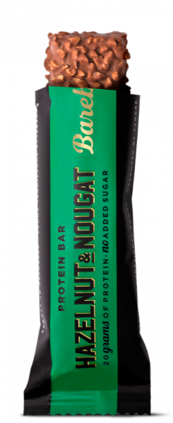 Barebells Protein Bar - HAZELNUT & NOUGAT 55g