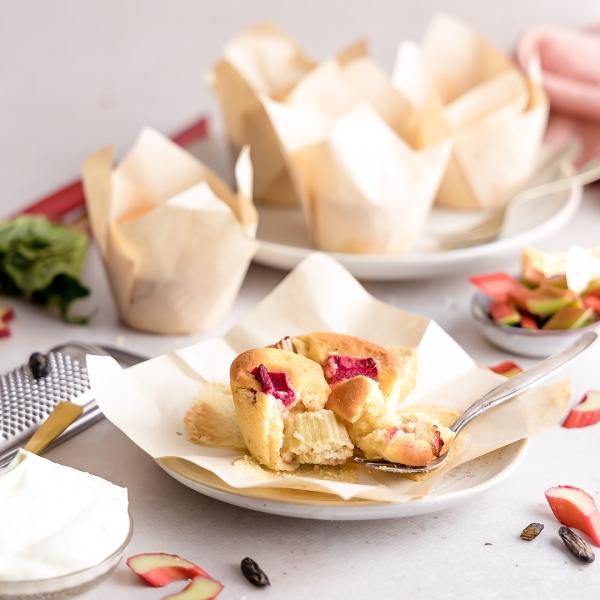 Rhabarber-Tonkabohne Muffin von Soulfood LowCarberia 90g