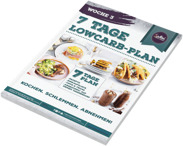 7 Tage Low-Carb-Plan - Woche 3 (gedrucktes Heft) von Soulfood LowCarberia