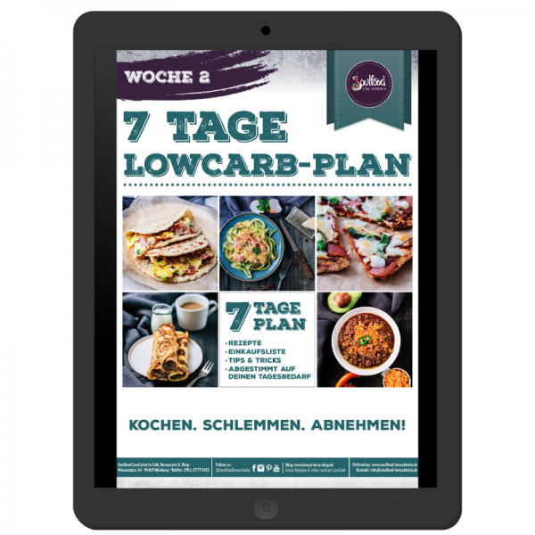 7 Tage Low-Carb-Plan - Woche 2 (e-Book)