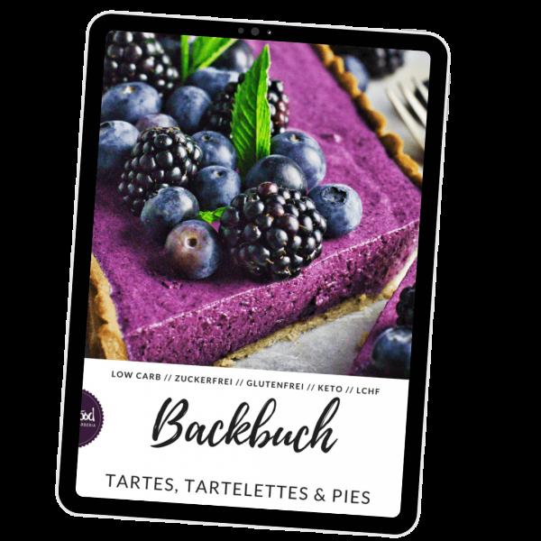 LowCarb Backbuch Tartes, Tartelettes & Pies (e-Book)
