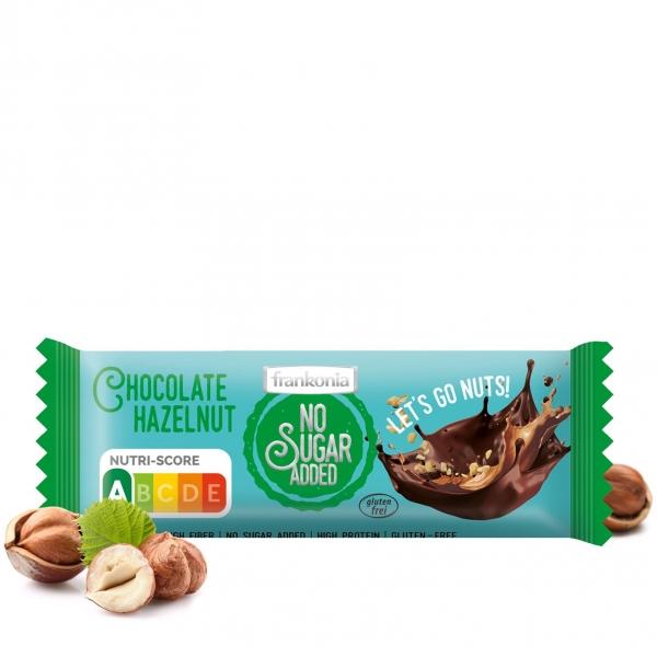 Chocolate Hazelnut Riegel - No Sugar Added Frankonia