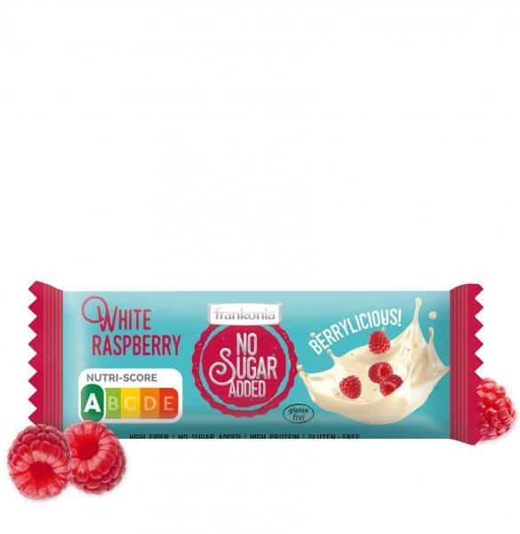 White Raspberry Riegel - No Sugar Added Frankonia